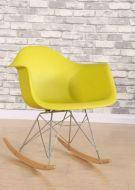 Кресло-качалка Тауэр R желтое, фото 2