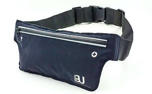 Ремінь-сумка спортивний (поясний) для бігу і велопрогулянки GA-6334-4 (салатовий)