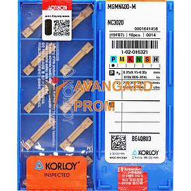 Пластина KОRLOY MGMN400-M NC3020
