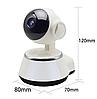Поворотная сетевая IP Wi-Fi камера видеонаблюдения с датчиком движения и ночного виденья 360°V380-Q6, фото 2