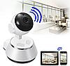 Поворотная сетевая IP Wi-Fi камера видеонаблюдения с датчиком движения и ночного виденья 360°V380-Q6, фото 4