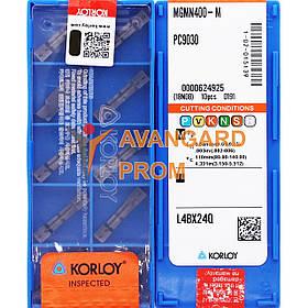Пластина KОRLOY MGMN400-M PC9030