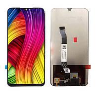 Дисплей для телефона Xiaomi RedMi Note 8 Pro с сенсорным стеклом (Черный) Оригинал Китай