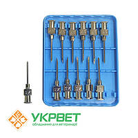 Игла ветеринарная инъекционная многоразовая LL 1,5 мм (17 G)