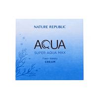 Освежающий крем для жирной кожи лица NATURE REPUBLIC Super Aqua Max Fresh Watery Cream, 80 мл