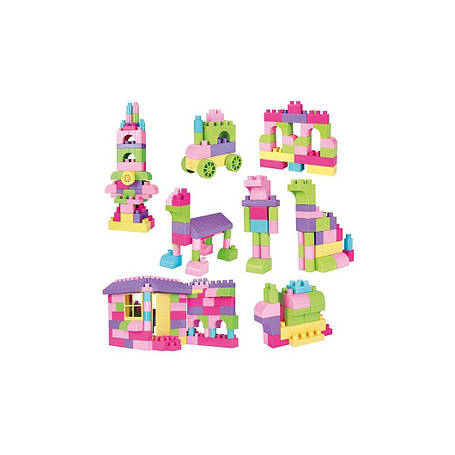 "Конструктор ""Create & Play"" розовый Wader 41293, фото 2"
