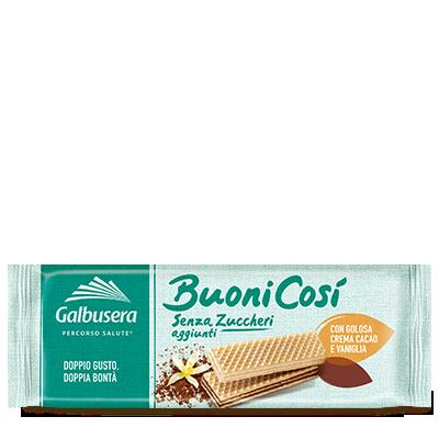 Вафлі без цукру Buoni Cosi,  Galbusera