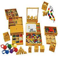 Деревянная игрушка Развивающий набор «Дары Фрёбеля», развивающие товары для детей.