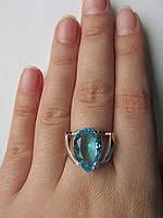 """Серебряное кольцо с золотыми пластинами""""Вежда"""", фото 1"""