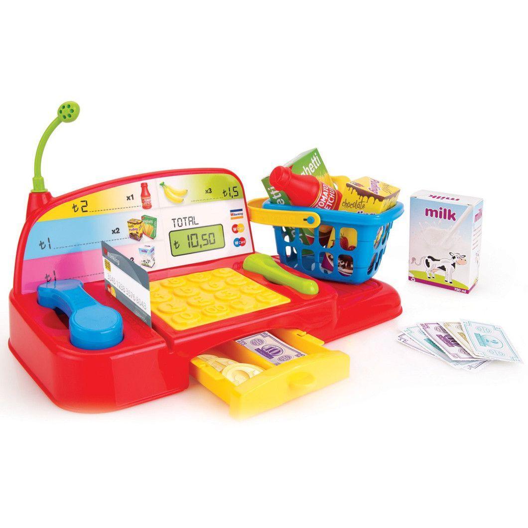 Каса з продуктами ігровий набір Wader 25500