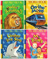 «Сходи». Ілюстрована дитяча серія для дошкільнят. Комплект з 4-х книг англійською мовою, фото 1