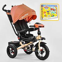 *Велосипед BestTrike арт. 6088-2230 (надувные колёса, поворотное сидение, фара, пульт)