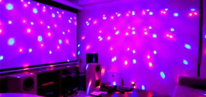 Декоративное освещение, световое оборудование