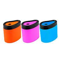 Точилка с контейнером Axent Neon soft mix (1158-A)