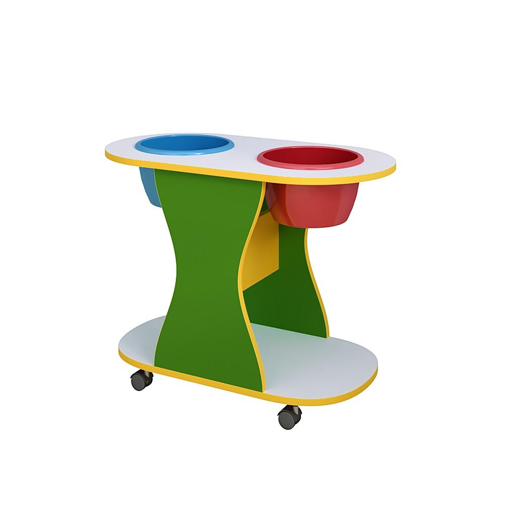 Стол для детского сада для игры с песком и водой