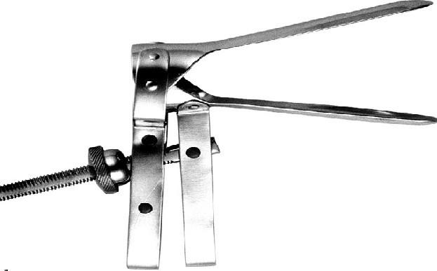 ЗМ-48 Зеркало влагалищное двухстворчатое по Куско № 2
