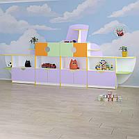 Детская стенка для игрушек «Кораблик», фото 1