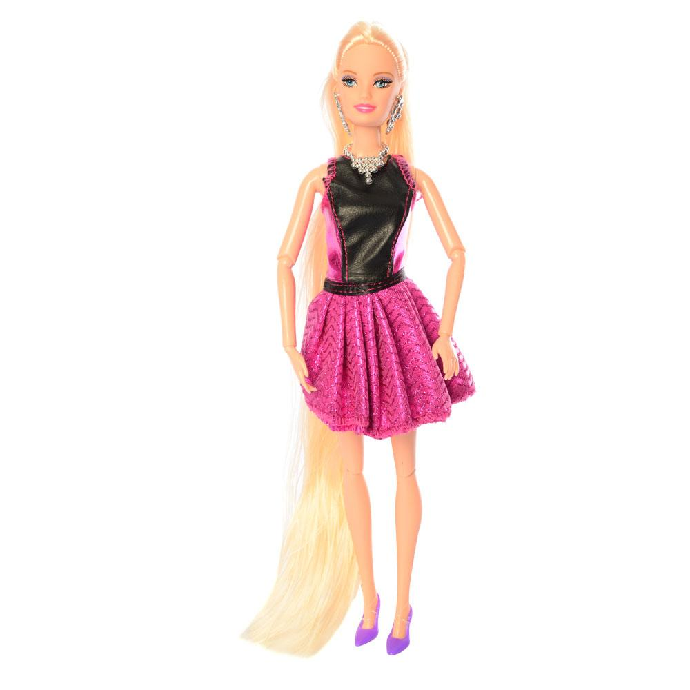 Кукла-манекен 68155 шарнирная с единорогом-головой для причесок