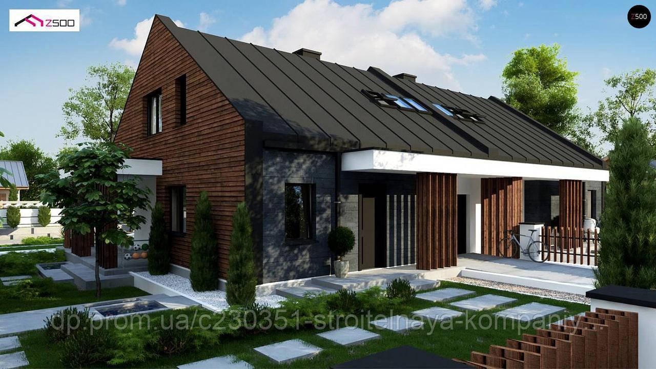 Проект дома uskd-100, фото 1