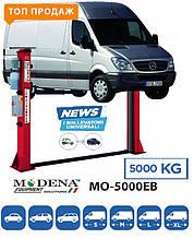 MO-5000ЕВ Двухстоечный подъемник повышенной грузоподъемности 5 тонн для микроватобусов MB Sprinter WV Crafter