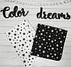 Набор 2-х детских пеленок Непромокаемые многоразовая  (Непромокашка) Звезды, фото 3