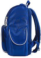 Рюкзак школьный ортопедический каркасный  YES  H-11 Oxford blue, 34*26*14 код: 553292, фото 3