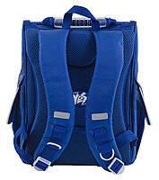 Рюкзак школьный ортопедический каркасный  YES  H-11 Oxford blue, 34*26*14 код: 553292, фото 4