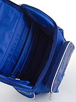 Рюкзак школьный ортопедический каркасный  YES  H-11 Oxford blue, 34*26*14 код: 553292, фото 5