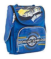 Рюкзак школьный каркасный ортопедический YES H-11 High Speed, 34*26*14    код: 553300