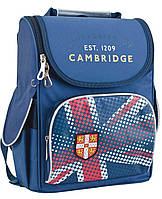 Рюкзак школьный каркасный ортопедический  YES  H-11 Cambridge blue, 34*26*14      код: 553304