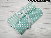 Набор непромокаемых пеленок для новорожденного (Непромокашка) Мята
