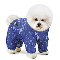 Комбинезон для собак Pet Fashion Норд XS, Длина спины: 23-26 см, обхват груди: 28-32 (синий и фиолетовый)