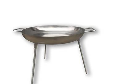 Сковорода (Диск) для пикника из нержавеющей стали