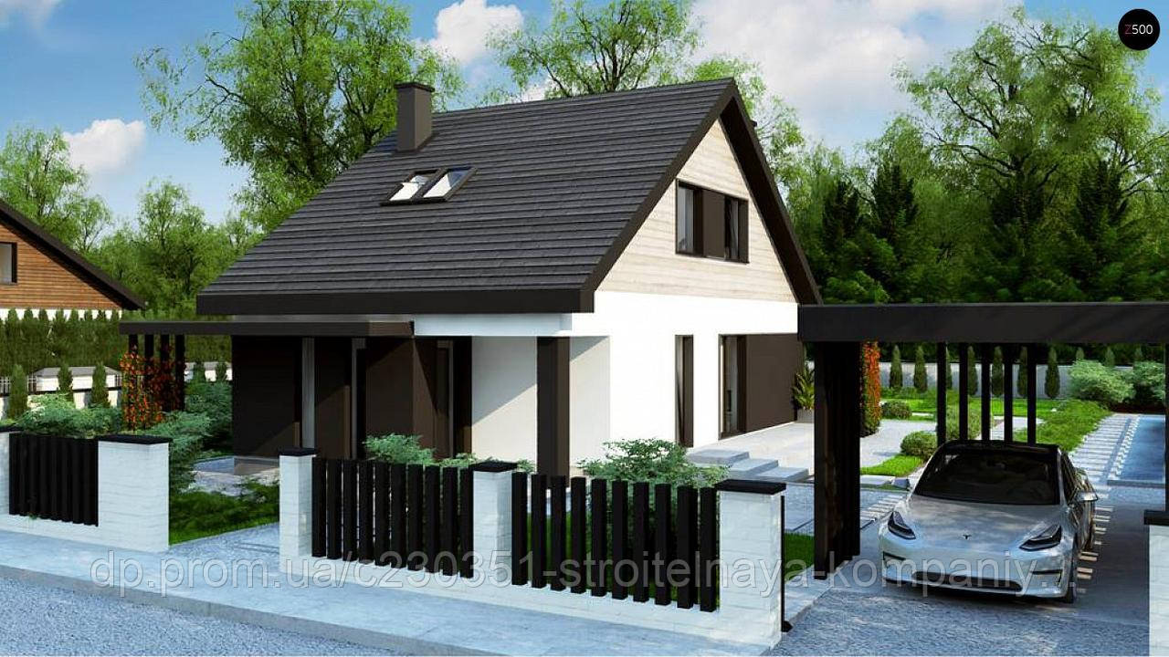 Проект дома uskd-101, фото 1