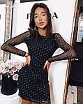 Жіноча сукня з блискітками від СтильноМодно, фото 2