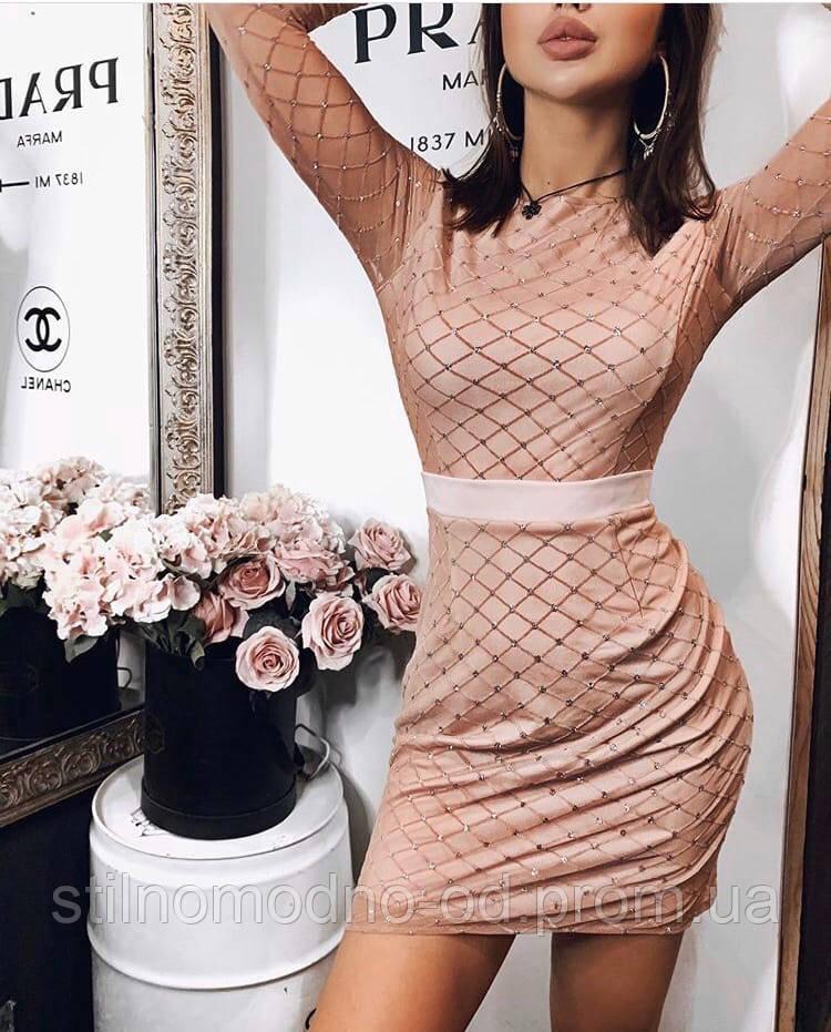 Жіноча сукня з блискітками від СтильноМодно