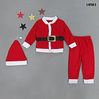 Новогодний костюм с шапочкой для мальчика. 86, 92 см