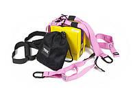 Петли тренировочные TRX Home Pink