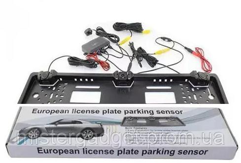 Рамка з камерою і парктроником 2 датчика