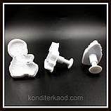 Плунжер Ребёнок  Бутылочка, Лошадка-качалка, 3 шт (кнопка), фото 8