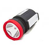 Фонарик Переносной фонарь Yajia прожектор мощный с ручкой 5 Ватт, фото 4