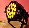 Сценический прожектор Led Par 18x18 RGBAW+UV DMX заливочный свет, фото 3
