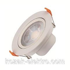 Nora-5 Вт вбудований світлодіодний світильник