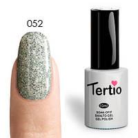 Гель-лак Tertio №052 (Белый, микроблеск), 10 мл