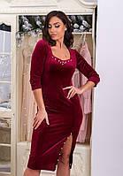 Платье женское бархат в расцветках 29598, фото 1