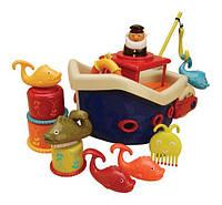 Игровой набор для ванной Ловись, рыбка 12 аксес. Battat (BX1012Z), фото 1