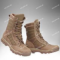Берцы зимние / военная, тактическая утепленная обувь INFERNO Desert (coyote)