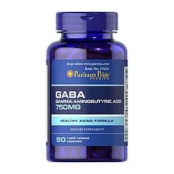 PsP GABA (Gamma Aminobutyric Acid) 750 mg - 90 кап