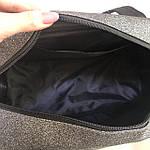 Женская спортивная сумка дорожная сумка Fila Nike Fendi серая, фото 8