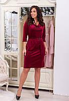 Платье женское бархат в расцветках 29600, фото 1